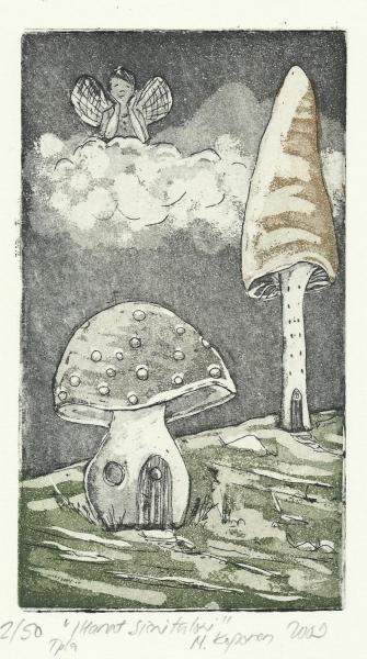 Ihanat sienitaloni (My wonderful mushroom shaped houses)