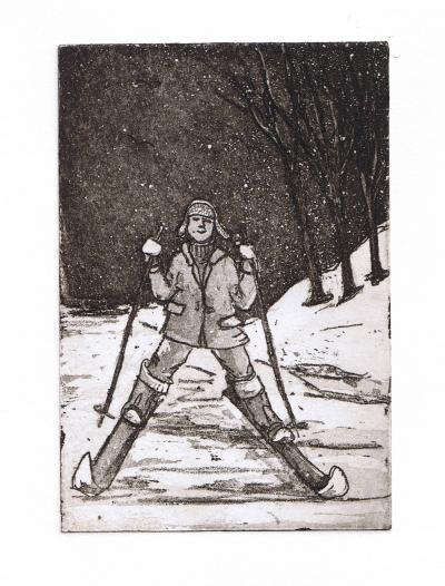 Hiihtäjä (Skier)
