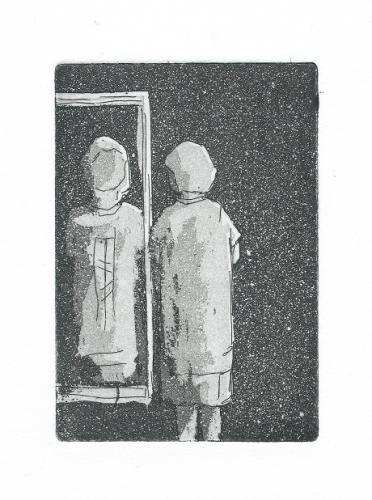 Kuva peilissä